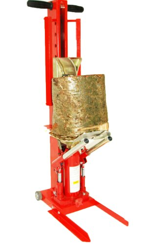 Forest Master Hydraulikholzspalter log splitter mit DuoCut blade and RamStop, rot, Duo10T -
